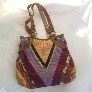 Lucky Vintage Inspired Boho Patchwork bag